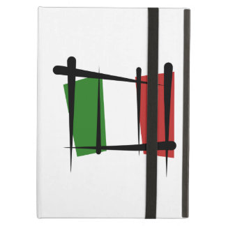 Italy Brush Flag iPad Cases