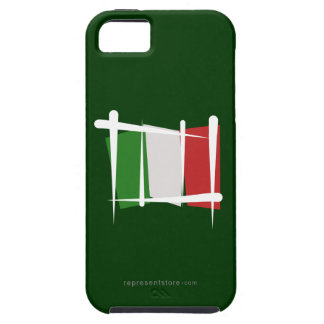 Italy Brush Flag iPhone SE/5/5s Case