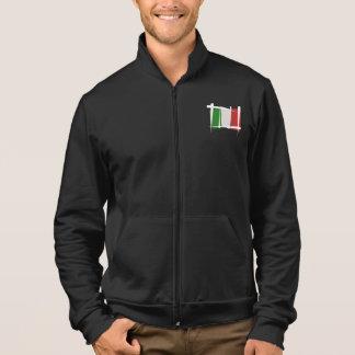 Italy Brush Flag Jacket
