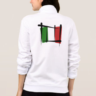 Italy Brush Flag Jackets