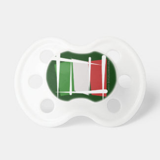 Italy Brush Flag Pacifier