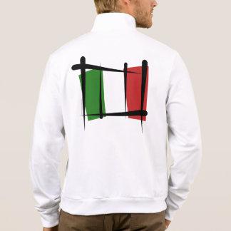 Italy Brush Flag T Shirts