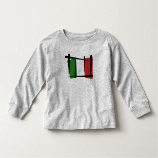 Italy Brush Flag Toddler T-shirt