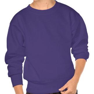 Italy Brush Flag Pullover Sweatshirt