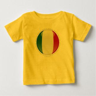 Italy Bubble Flag Baby T-Shirt