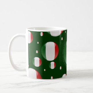 Italy Bubble Flag Coffee Mug