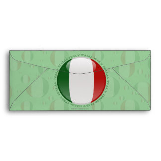 Italy Bubble Flag Envelope