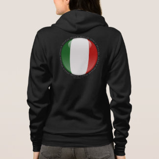 Italy Bubble Flag Hoodie