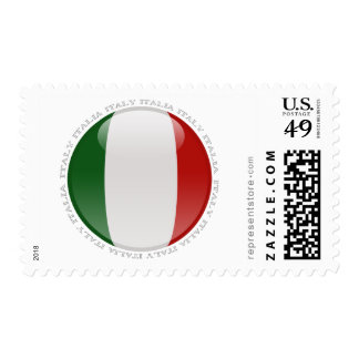 Italy Bubble Flag Stamps