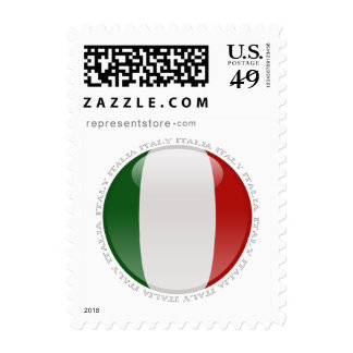 Italy Bubble Flag Postage Stamps
