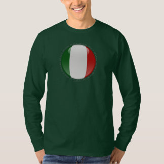 Italy Bubble Flag T-shirt