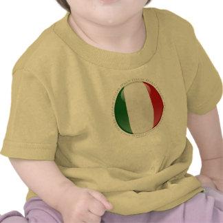Italy Bubble Flag T-shirts