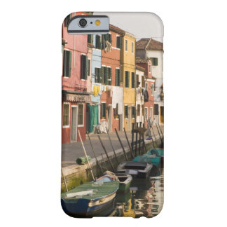 Italy, Burano. Colorful houses of line a Barely There iPhone 6 Case