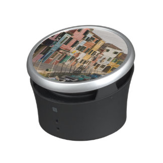 Italy, Burano. Colorful houses of line a Bluetooth Speaker