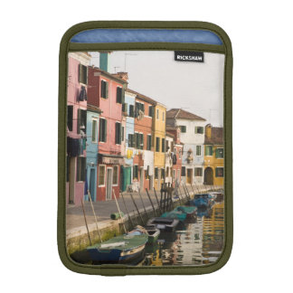 Italy, Burano. Colorful houses of line a iPad Mini Sleeves