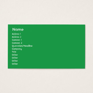Italy - Business Business Card