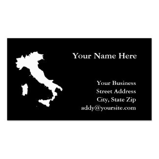 Italy Business Card