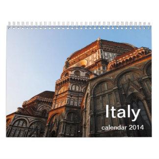 Italy Calendar 2014