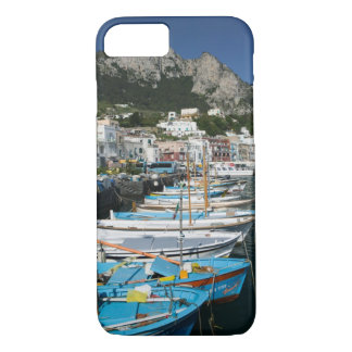 ITALY, Campania, (Bay of Naples), CAPRI: Marina iPhone 7 Case