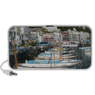 ITALY, Campania, (Bay of Naples), CAPRI: Marina Notebook Speaker