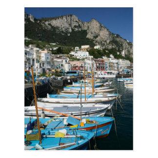 ITALY, Campania, (Bay of Naples), CAPRI: Marina Postcard