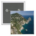 ITALY, Campania, (Bay of Naples), CAPRI: Pinback Button