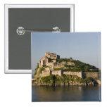 ITALY, Campania, Bay of Naples), ISCHIA, 2 2 Inch Square Button