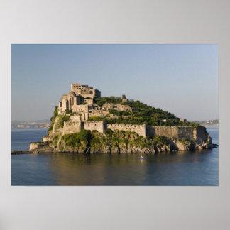 ITALY, Campania, Bay of Naples), ISCHIA, 2 Poster