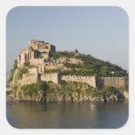 ITALY, Campania, Bay of Naples), ISCHIA, 2 Square Sticker