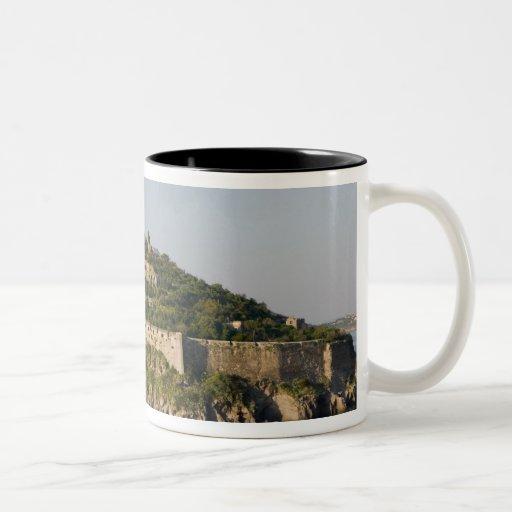 ITALY, Campania, Bay of Naples), ISCHIA, 2 Two-Tone Coffee Mug
