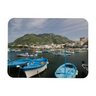 ITALY, Campania, (Bay of Naples), ISCHIA, FORIO: 2 Rectangular Photo Magnet