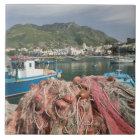 ITALY, Campania, (Bay of Naples), ISCHIA, FORIO: Ceramic Tile