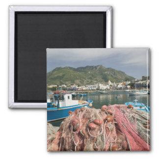 ITALY, Campania, (Bay of Naples), ISCHIA, FORIO: 2 Inch Square Magnet