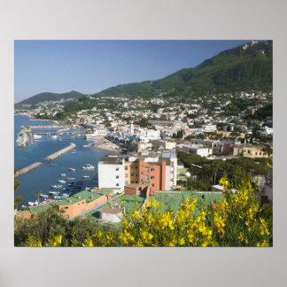 ITALY, Campania, (Bay of Naples), ISCHIA, LACCO Poster