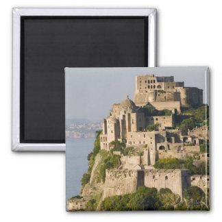 ITALY, Campania, Bay of Naples), ISCHIA, 2 Inch Square Magnet