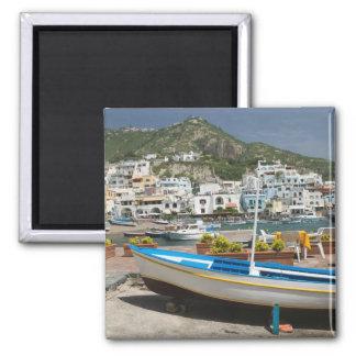 ITALY, Campania, (Bay of Naples), ISCHIA, 2 Inch Square Magnet