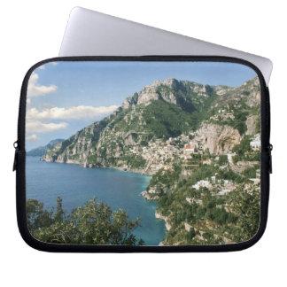 Italy, Campania, Sorrentine Peninsula, Positano, Laptop Computer Sleeve