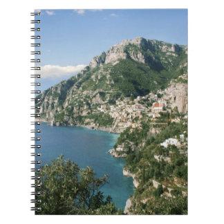 Italy, Campania, Sorrentine Peninsula, Positano, Notebook