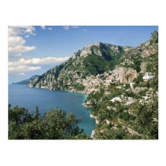 Italy, Campania, Sorrentine Peninsula, Positano, Postcard