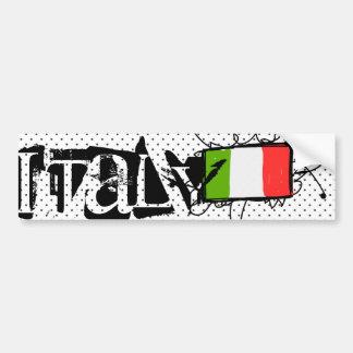Italy Car Bumper Sticker