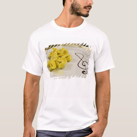 Italy, Cento. A plate of cheese tortellini T-Shirt