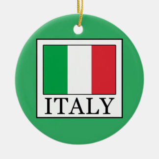 Italy Ceramic Ornament