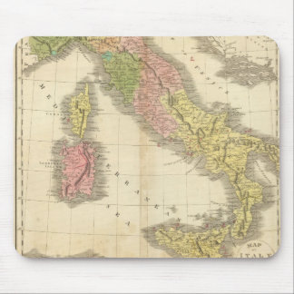 Italy Chonology Atlas Map Mouse Pad