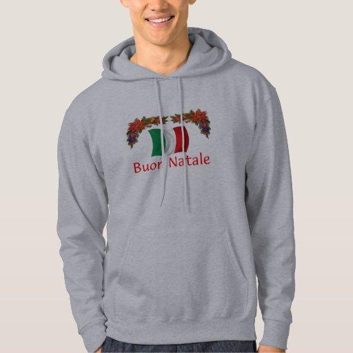 Italy Christmas Hooded Sweatshirt