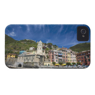 Italy, Cinque Terre, Vernazza, Harbor and Church 2 iPhone 4 Cover