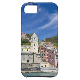 Italy, Cinque Terre, Vernazza, Harbor and Church iPhone SE/5/5s Case