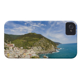 Italy, Cinque Terre, Vernazza, Hillside Town of 2 iPhone 4 Case