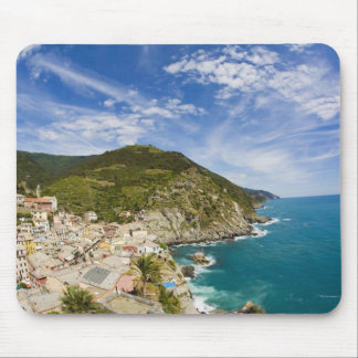 Italy, Cinque Terre, Vernazza, Hillside Town of 2 Mouse Pad