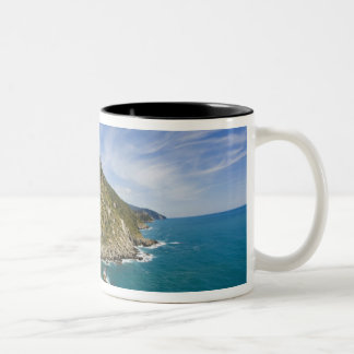 Italy, Cinque Terre, Vernazza, Hillside Town of 2 Two-Tone Coffee Mug