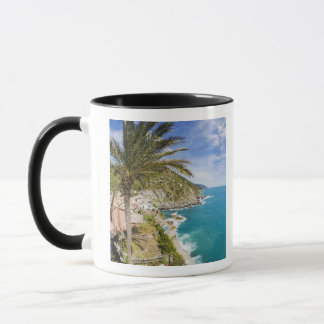 Italy, Cinque Terre, Vernazza, Hillside Town of Mug